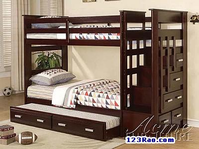 www.123raovat.com: Giường tầng đa năng cho trẻ em, người lớn giá tốt nhất